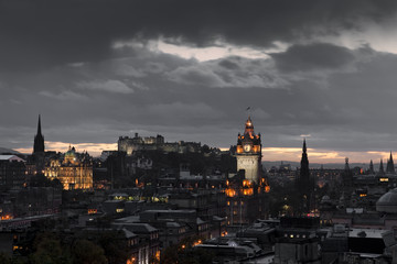 night edinburgh
