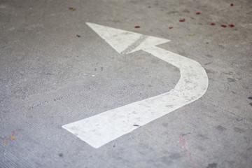 arrow turn left