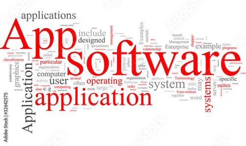 App Application software