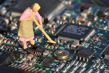Computer aufräumen