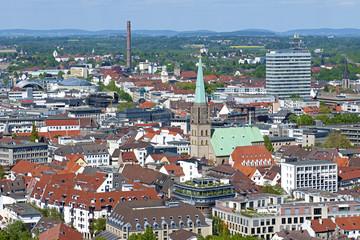 Bielefeld von oben
