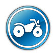 "Glossy Button ""All Terrain Vehicle Trail"""