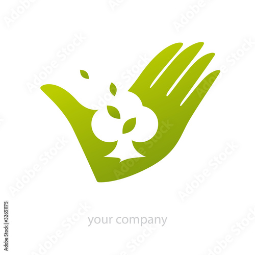 Logo logo paysagiste jardin fichier vectoriel libre de for Logo jardin