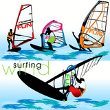 Windsurf action set
