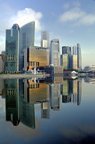 Singapore CBD Skyline - Fine Art prints