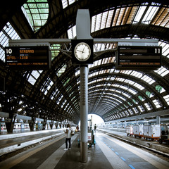 Milan station architecture