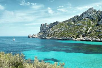 Marseille, calanque de SORMIOU