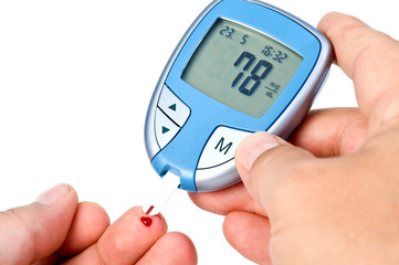 Blutzucker messen mit Digitalem Blutzucker Messgerät