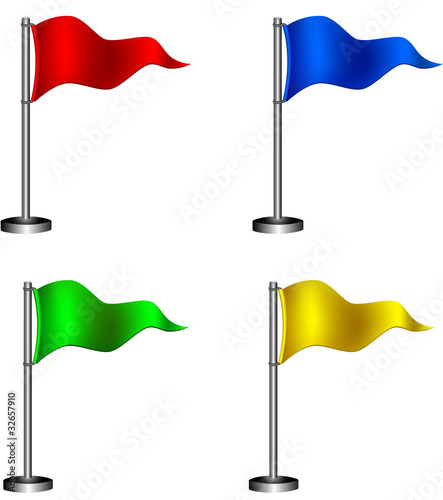 Map flags