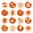 Energy and resource stickers