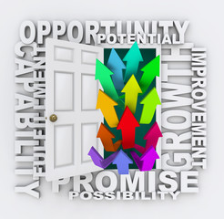 Opportunities Door - Unlock Your Potential for Growth