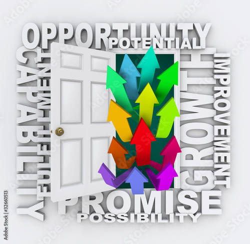 Opportunities Door - Unlock Your Potential for Growth