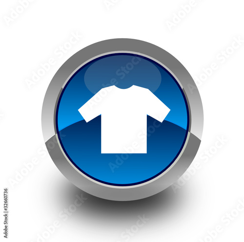 T-shirt button