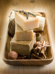 natural spices soap