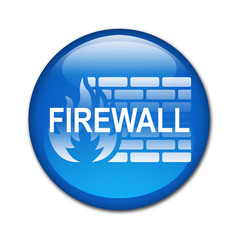 Boton billante FIREWALL