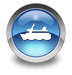 """Glossy Pictogram """"Cruise Liner"""""""