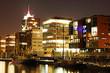 Hamburg Hafencity Nachtaufnahme