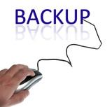 Backup word poster