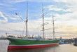 "Leinwanddruck Bild - ""Rickmer Rickmers"" historic ship in Hamburg"