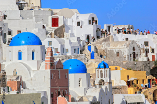 Foto op Canvas Santorini island Greece