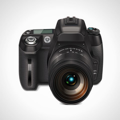 Vector SLR camera XXL icon