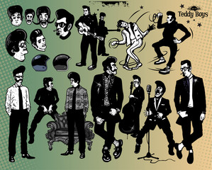 Rock stars - Teddy Boys