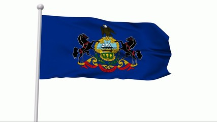 Fahne Pennsylvania NTSC