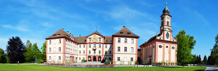 Mainau Schloss Panorama