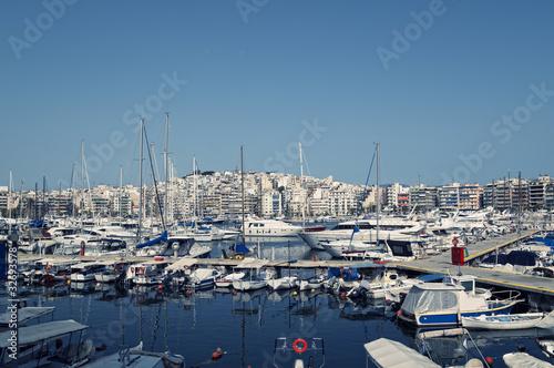 Piraeus Marina in athens, Greece