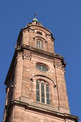 Turm der Jesuitenkirche in Heidelberg