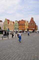 Salzmarkt - Breslau - Polen