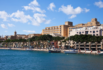 View of Msida