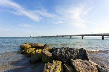 Seebrücke Grömitz an der Ostsee
