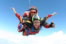 "Постер, картина, фотообои ""Skydiving photo"""