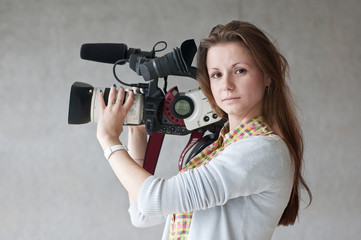 girl  journalist