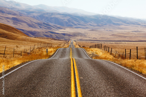 California,  American road
