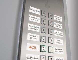 Elevator Emergency Button
