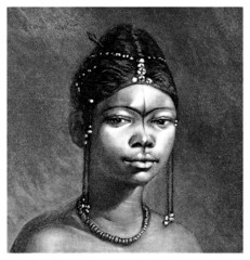 Trad. African Girl