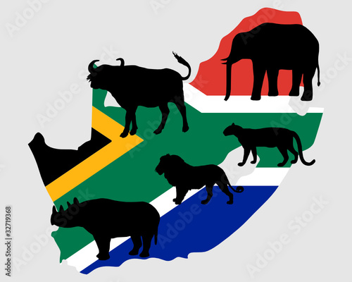 """Big Five"" Südafrika"