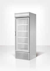 Drink display fridge