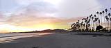 Fototapety santa barbara beach and pier