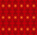 flower pattern seamless texture