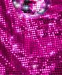 Disco mirror ball glitter