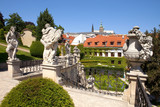 prague - vrtba garden and hradcany castle
