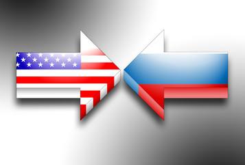 USA gegen Russland