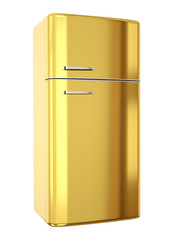 Gold fridge