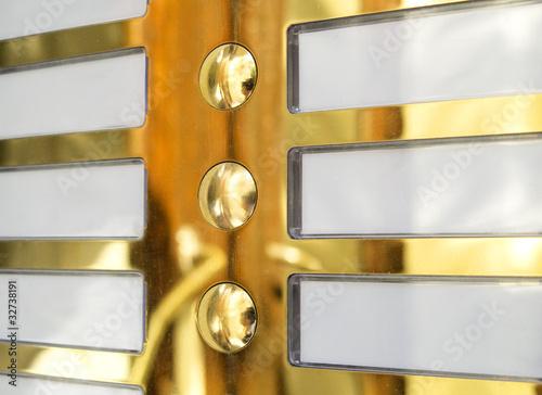 door bell name plate