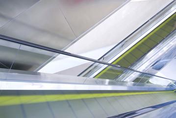 the moving escalator