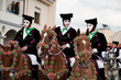 Sartiglia of Oristano, traditional carnival of Sardinia, Italy