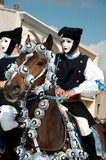 Sartiglia of Oristano, traditional carnival of Sardinia, Italy